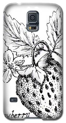 Strawberry Dreams Galaxy S5 Case