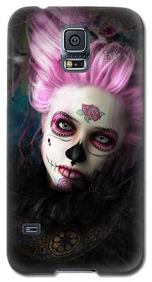 Sugar Doll Pink Galaxy S5 Case