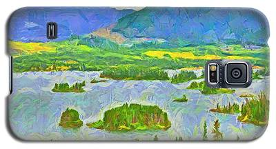 Summer View Of Lake Dillon In The Colorado Rocky Mountains Galaxy S5 Case