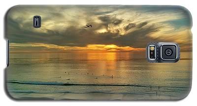 Sunset At Carlsbad Galaxy S5 Case