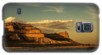 Sunset At Scotts Bluff National Monument Galaxy S5 Case