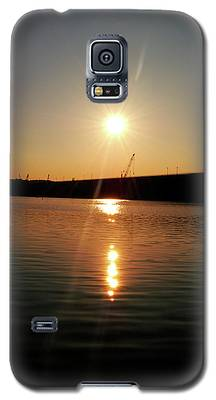 Sunset At Wolf Creek Dam Galaxy S5 Case