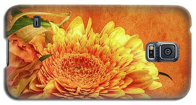 Sunset Flowers Galaxy S5 Case