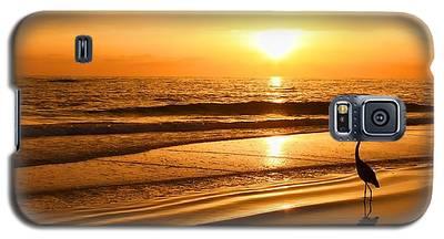 Sunset Gold Galaxy S5 Case