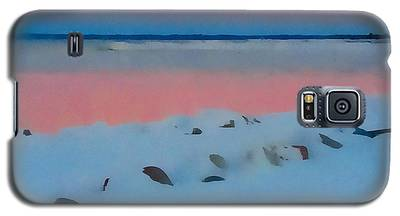 Sunset On Georgian Bay Galaxy S5 Case
