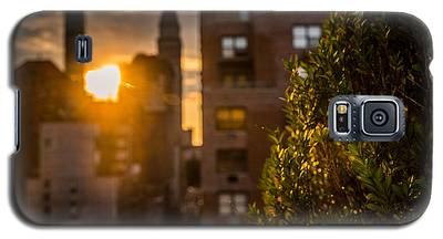 Sunset Over Manhattan New York City Galaxy S5 Case