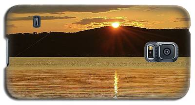 Sunset Over Piermont Galaxy S5 Case