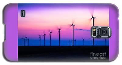 Sunset Spinning Galaxy S5 Case