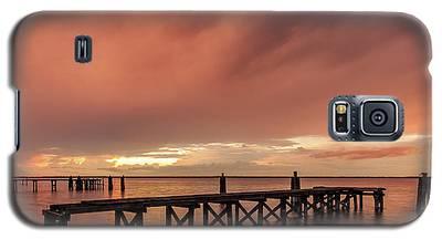 Sunset Thru Storm Clouds Galaxy S5 Case