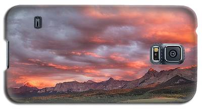 Sunset With Rain Clouds Galaxy S5 Case