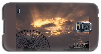 Texas Star Ferris Wheel And Sun Rays Galaxy S5 Case
