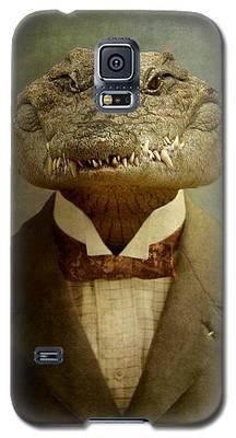 Crocodile Galaxy S5 Cases