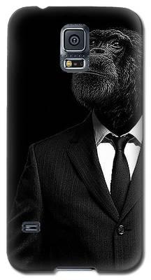 Chimpanzee Galaxy S5 Cases