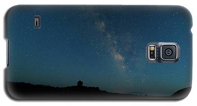 The Milky Way At Goblin Valley Galaxy S5 Case