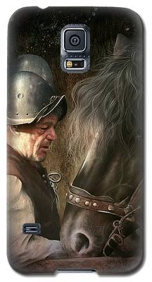 The Old Man And His Trusty Friend Galaxy S5 Case