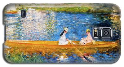 Renoir Boating On The Seine Galaxy S5 Case
