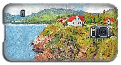 The Spectacular Keltic Lodge On Cape Breton Island Galaxy S5 Case