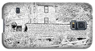 The Stone House At The Oliver Miller Homestead Galaxy S5 Case