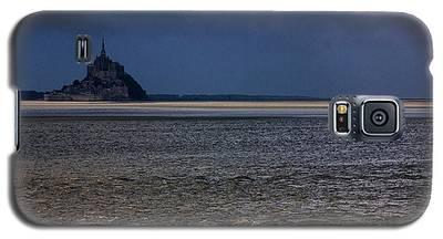 Tide In Mont Saint-michel Bay Galaxy S5 Case