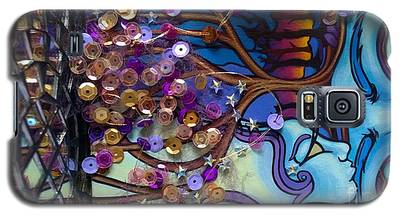 Tree And Face Of Beauty Galaxy S5 Case