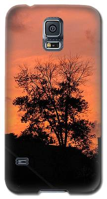 Tree On Fire Galaxy S5 Case