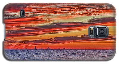 Tropical Gulf Nights Galaxy S5 Case