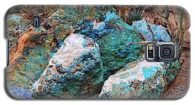 Turquoise Rocks Galaxy S5 Case