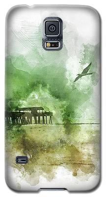 Tybee Island Pier Georgia Galaxy S5 Case