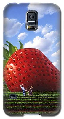 Strawberry Galaxy S5 Cases