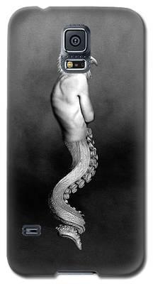 Ureal Female Portrait Wall Art Decor Print Galaxy S5 Case