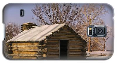 Valley Forge Cabin At Sunset Galaxy S5 Case
