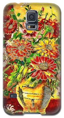 Vase Of Flowers Galaxy S5 Case