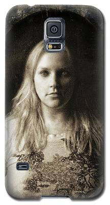 Vintage Tintype Ir Self-portrait Galaxy S5 Case