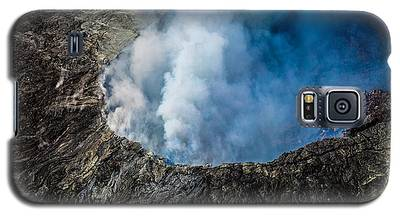 Another View Of The Kalauea Volcano Galaxy S5 Case