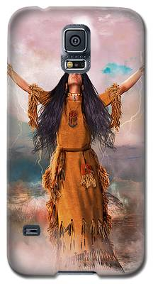 Wakan Tanka The Great Spirit Galaxy S5 Case