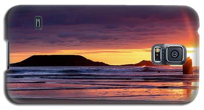 Wales Gower Coast Helvetia Galaxy S5 Case