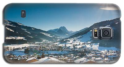 Warm Winter Day In Kirchberg Town Of Austria Galaxy S5 Case