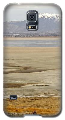 Wasatch Mountains From Antelope Island Galaxy S5 Case