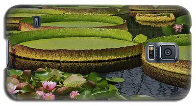 Waterlilies North And South Galaxy S5 Case