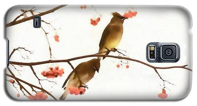 Waxwing Wonders Galaxy S5 Case