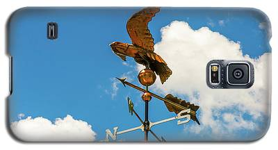Weather Vane On Blue Sky Galaxy S5 Case
