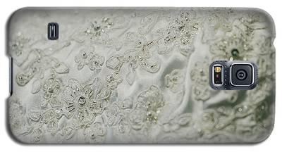 Wedding Dress Floral Beadwork Galaxy S5 Case
