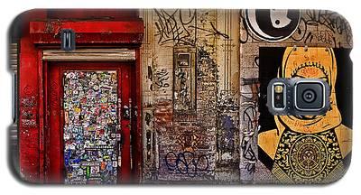 West Village Wall Nyc Galaxy S5 Case