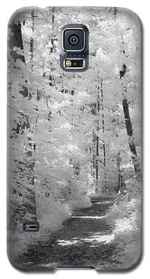 White Path Galaxy S5 Case