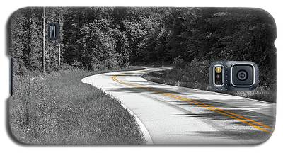 Winding Country Road In Selective Color Galaxy S5 Case