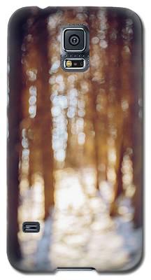 Winter In Snow Galaxy S5 Case