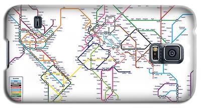 London Tube Galaxy S5 Cases