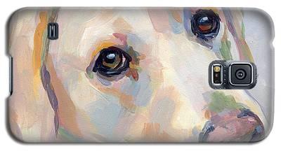Yellow Lab Galaxy S5 Cases