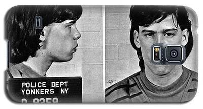 Young Steven Tyler Mug Shot 1963 Pencil Photograph Black And White Galaxy S5 Case