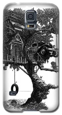 Lake Front Dream House Galaxy S5 Case